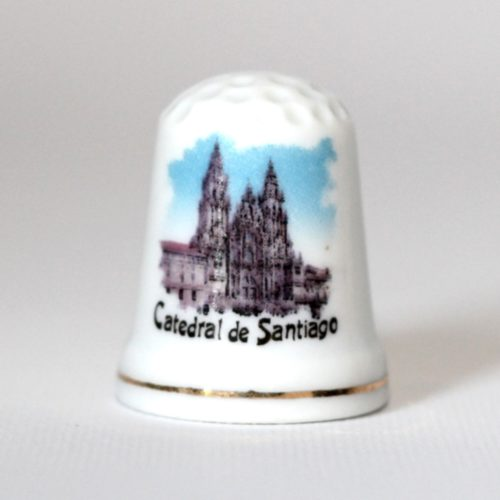 Thimble crockery Cathedral of Santiago