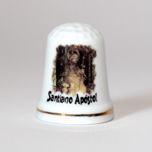 Thimble of Apostle Santiago