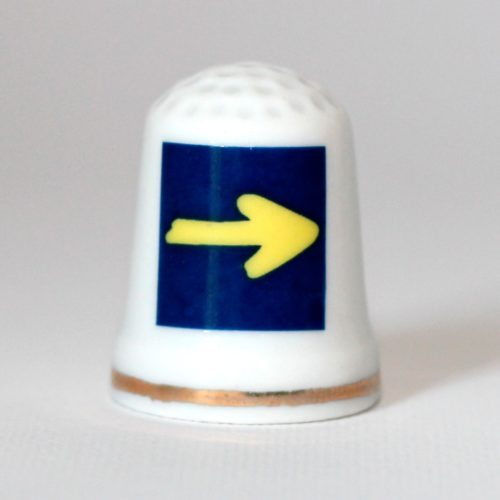 Thimble earthenware arrow